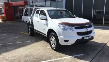 2013  Holden Colorado Lx Cab Chassis Space Cab