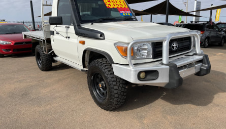 2012 Toyota Landcruiser Workmate Cab Chassis Single Cab
