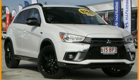 2018  Mitsubishi ASX Black Edition Wagon
