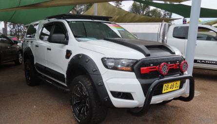 2015  Ford Ranger Xl Hi-rider Cab Chassis Double Cab