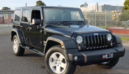 2018  Jeep Wrangler Unlimited Sport Softtop