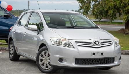 2010  Toyota Corolla Ascent Hatchback