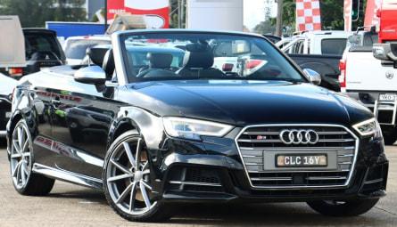 2018  Audi S3Cabriolet