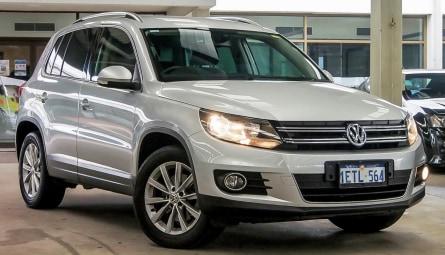 2015 Volkswagen Tiguan 130TDI Wagon