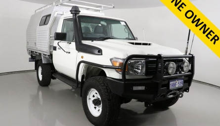 2016  Toyota Landcruiser Workmate Cab Chassis Single Cab