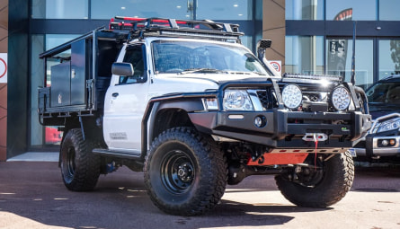 2016 Nissan Patrol DX Cab Chassis Single Cab