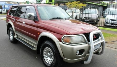 2001  Mitsubishi Challenger Ls Wagon