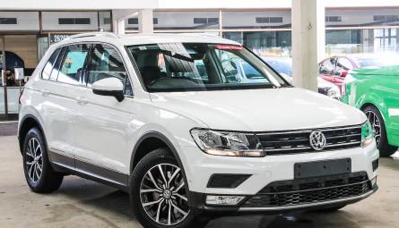 2017  Volkswagen Tiguan 132tsi Comfortline Wagon