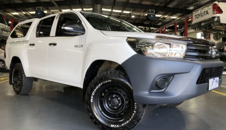 2016  Toyota Hilux Workmate Utility Double Cab