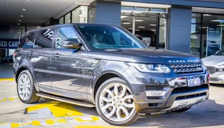 2014 Land Rover Range Rover Sport SDV6 Autobiography Wagon