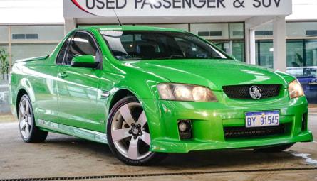 2008  Holden Ute Ss V Utility Extended Cab
