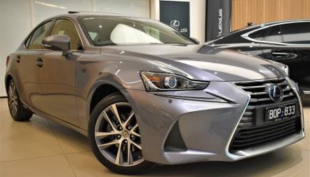 2018  Lexus IS Is300h Luxury Sedan