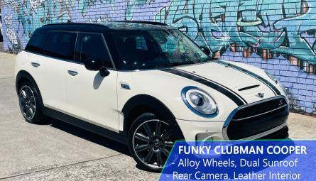 2017 Mini Clubman Cooper S Wagon