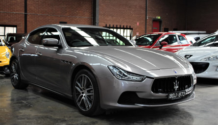 2015  Maserati GhibliSedan