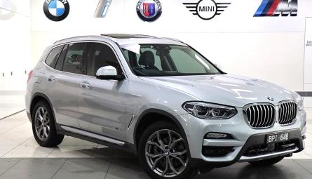 2017  BMW X3 Xdrive20d Wagon