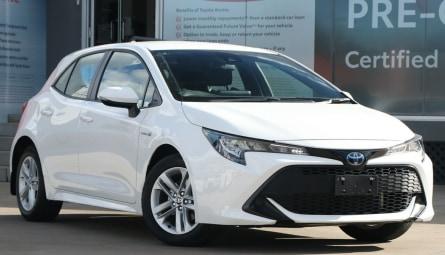 2020  Toyota Corolla Ascent Sport Hybrid Hatchback