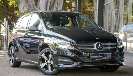 2017  Mercedes-Benz B-Class B180 Hatchback