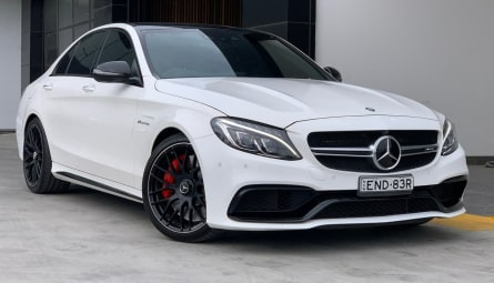 2015 Mercedes-Benz C-Class C63 AMG S Sedan