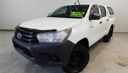 2017 Toyota Hilux Workmate Utility Double Cab
