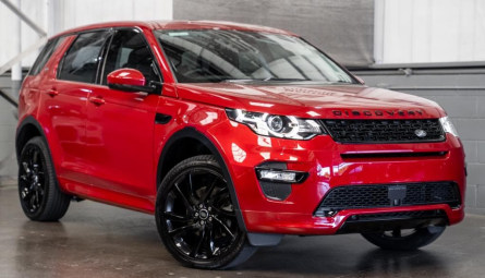 2017  Land Rover Discovery Sport Td4 180 Hse Luxury Wagon