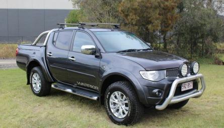2014  Mitsubishi Triton Glx-r Warrior Utility Double Cab