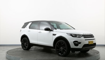 2017 Land Rover Discovery Sport TD4 180 HSE Wagon