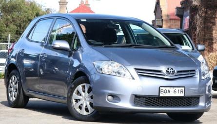 2011  Toyota Corolla Ascent Hatchback