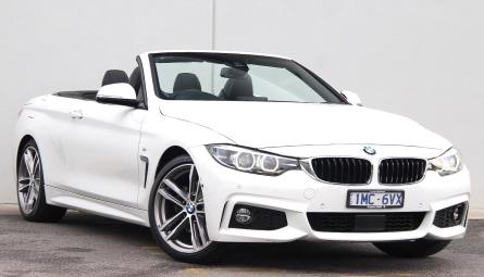 2018  BMW 4 Series 430i M Sport Convertible