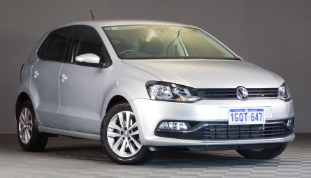 2015  Volkswagen Polo 81tsi Comfortline Hatchback
