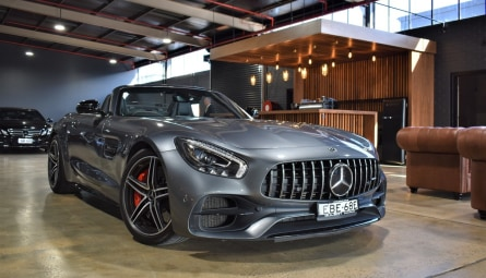 2017  Mercedes-Benz AMG GT C Coupe