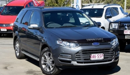 2012  Ford Territory Titanium Wagon