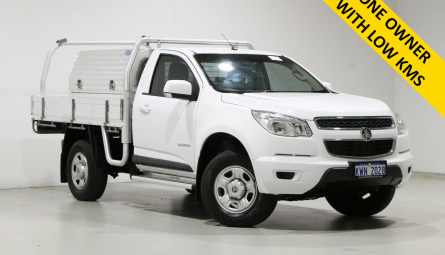 2015 Holden Colorado LS Cab Chassis Single Cab
