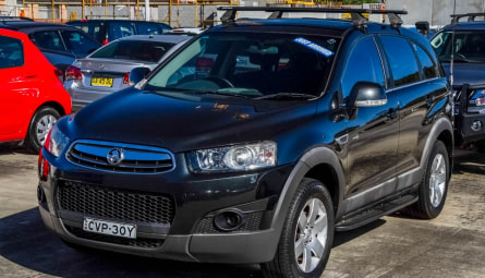 2012  Holden Captiva 7 Sx Wagon