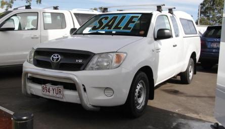 2008  Toyota Hilux Sr Utility Xtra Cab