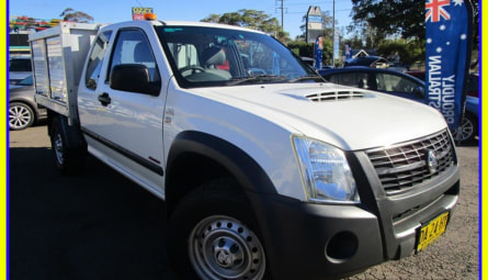 2007  HOLDEN RODEO Lx Cab Chassis Space Cab