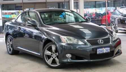 2010 Lexus IS IS250 C Sports Luxury Convertible
