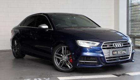 2018  Audi S3 Limited Edition Sedan