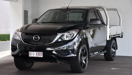 2017  Mazda BT-50 Xt Hi-rider Cab Chassis Freestyle