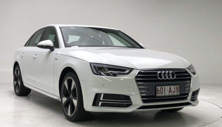 2018  Audi A4 S Line Sedan