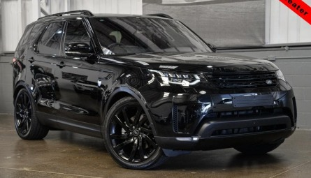 2017  Land Rover Discovery Td6 First Edition Wagon