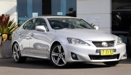 2010 Lexus IS IS250 Sports Luxury Sedan
