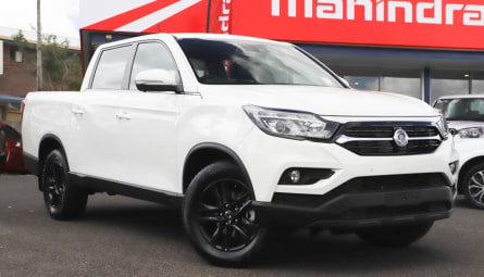 2021  SsangYong Musso Ultimate Utility Crew Cab