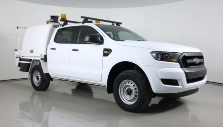 2017  Ford Ranger Xl Cab Chassis Double Cab