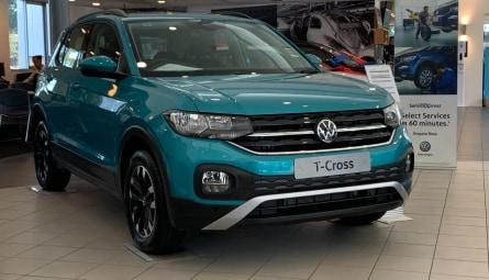 2020  Volkswagen T-Cross 85tsi Life Wagon
