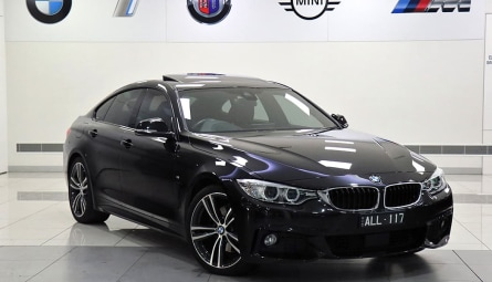 2016  BMW 4 Series 430i Sport Line Gran Coupe