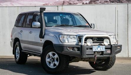 2001 Toyota Landcruiser GXV Wagon