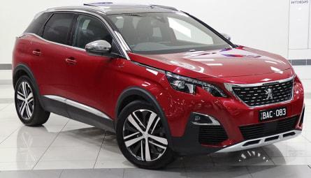 2019  Peugeot 3008 Gt Suv