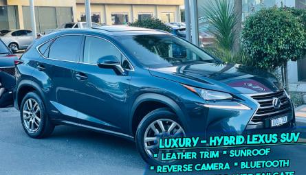 2015  Lexus Nx Nx300h Luxury Wagon
