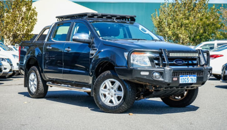 2013  Ford Ranger Xlt Utility Double Cab