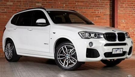 2014 BMW X3 xDrive20d Wagon